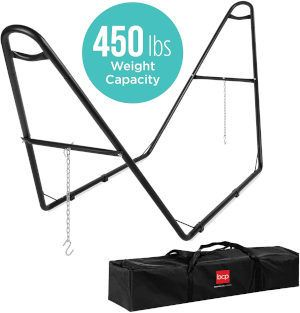 Best Choice Products Adjustable Universal Steel Hammock Stand