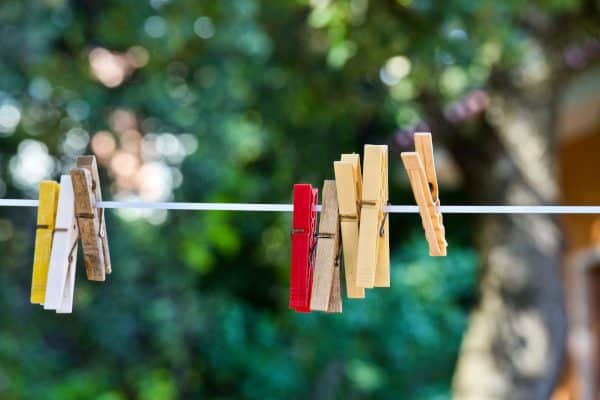 Clothesline and Pins