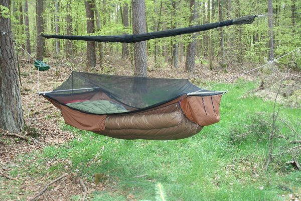 Full Hammock Setup with Underquilt