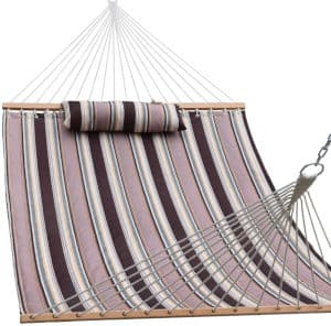 Lazy Daze Hammocks Double Size Quilted Fabric Hammock