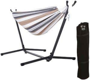 ONCLOUD Double Hammock with Steel Stand