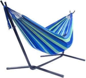 Sorbus Double Hammock with Steel Stand