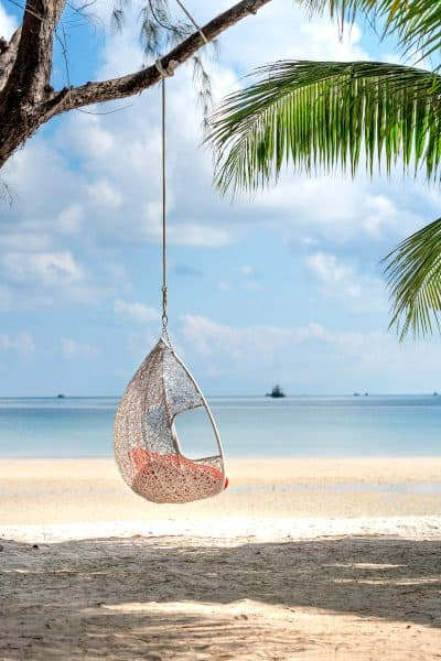 White Hanging Chair